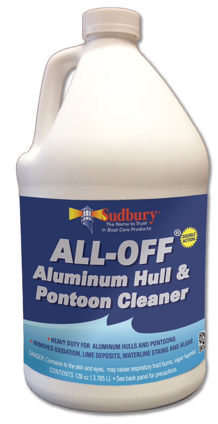 Sudbury All-Off Aluminum Hull and Pontoon Cleaner, 128 oz