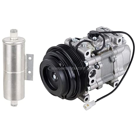 Original OEM nueva AC Compresor y embrague con secador de a/c para Mazda Miata