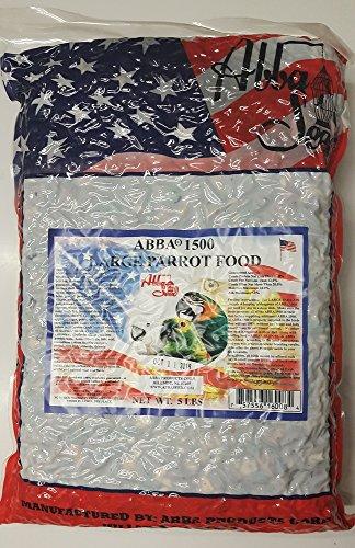 ABBA 1500 Bird Foods Large Parrot Food 5lbs ()
