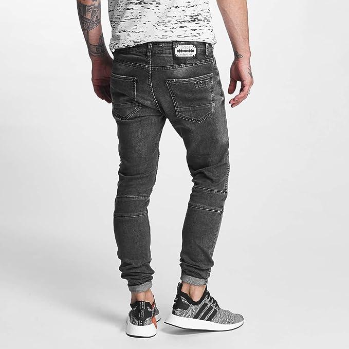 VSCT Clubwear Herren Jeans / Straight Fit Jeans Kevin: Amazon.de: Bekleidung