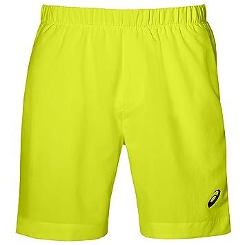 Asics Pantalon Corto Amarillo: Amazon.es: Deportes y aire libre