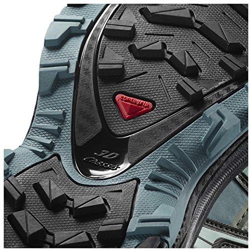 Salomon Femmes Xa Pro 3d Cs Chaussures Wp & Quicklace Bundle Ombre / Noir / Artic
