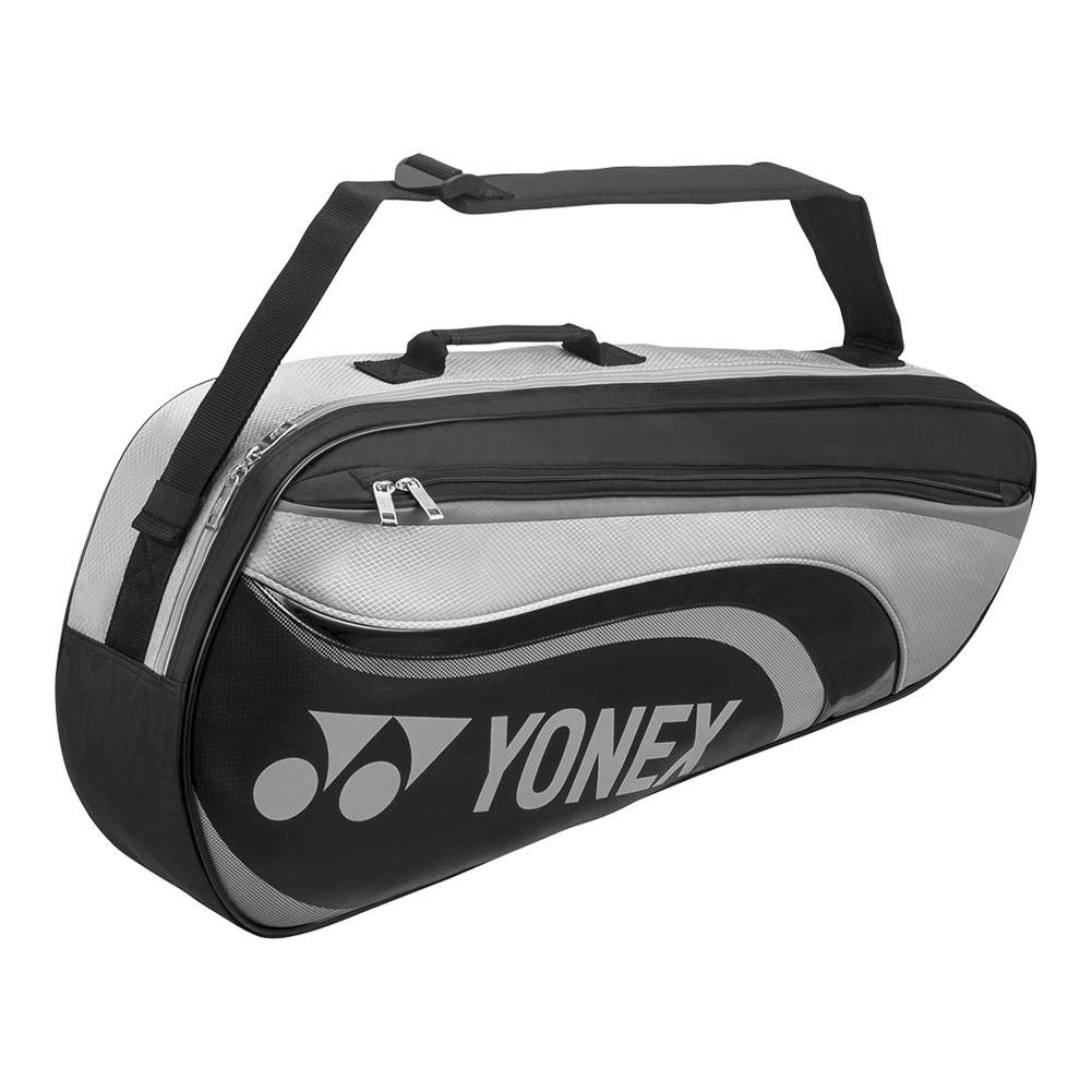 ヨネックス – アクティブ3パックテニスバッグブラックとグレー – ( bag8823 ) B078TX3QS7