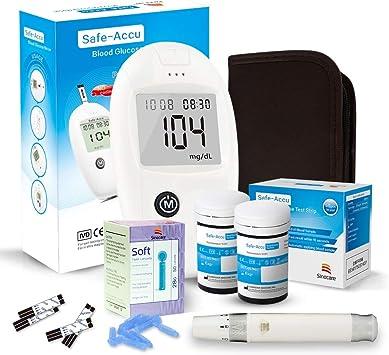 sinocare medidor de glucosa en sangre, kit de prueba de glucosa en ...