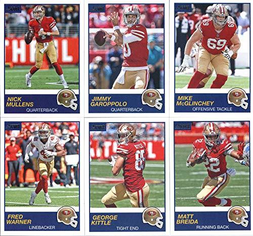 44791521 2019 Panini Score Football Veteran San Francisco 49ers Team Set of 11  Cards: Jimmy Garoppolo(#304), Nick Mullens(#305), Matt Breida(#306), George  ...