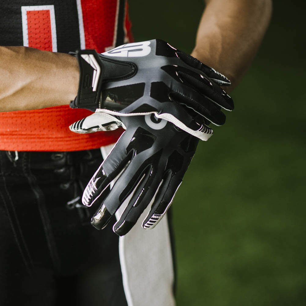 Amazon.com : Grip Boost #1 Grip in Football Gloves Stealth Men Pro Elite  Adult and Youth Football Gloves Receiver Gloves : Sports & Outdoors
