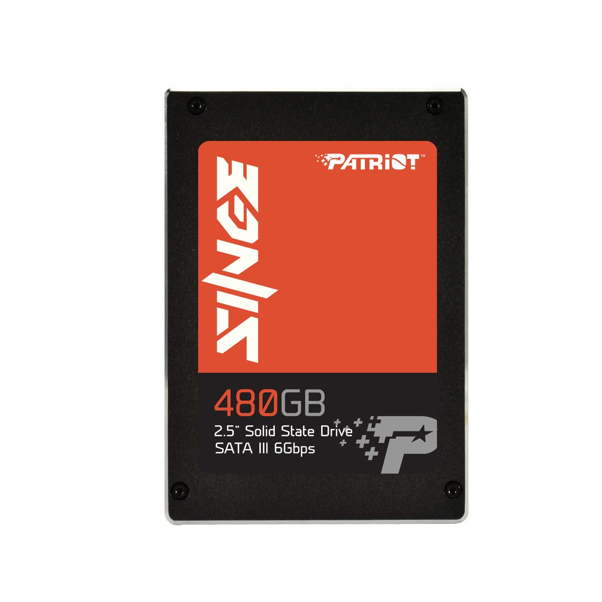 Patriot Singe 2.5'' 480GB SATA III SSD Drive Up to 550MB/s Read & 500MB/s Write Transfer Speeds