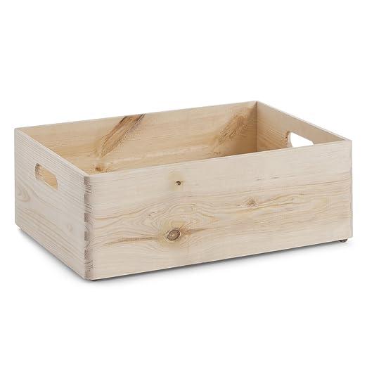 126 opinioni per Zeller 13145 Cesta portaoggetti in legno, 40 x 15 x 30 cm