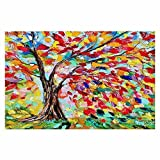 DiaNoche Woven Area Rugs, Kitchen Mats, Bath Mats by Karen Tarlton Poetry of a Tree Small 2×3 Ft For Sale