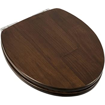 Comfort Seats C1b1rs 19ch Solid Wood Round Toilet Seat
