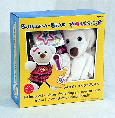 (Colorbok Build A Bear Kit, Polar Bear Rocker )