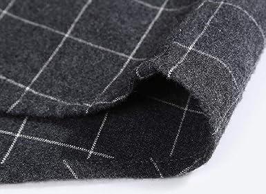 WSPLYSPJY Mens Casual Plaid Short Sleeve Shirt Regular-fit Checked Cotton Shirt Top