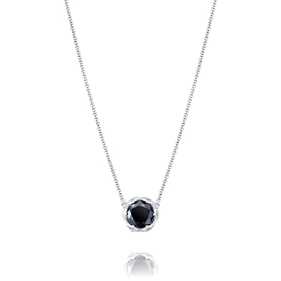 c8d8659f231ec Amazon.com: Tacori SN22419 Classic Rock Sterling Silver Black Onyx ...