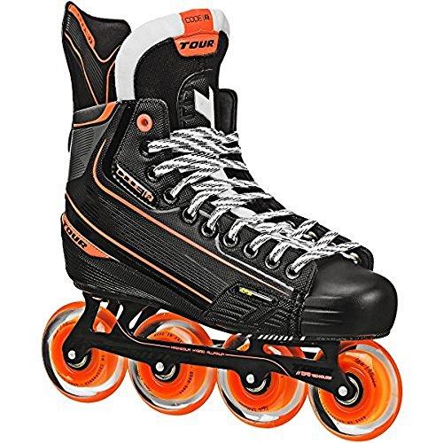 Tour Hockey Code 2 Senior Inline Hockey Skates Black Size 11