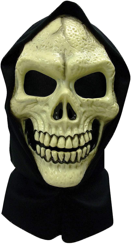 BN Skull Hooded Mask maschera in PVC accessori per travestimenti di Halloween