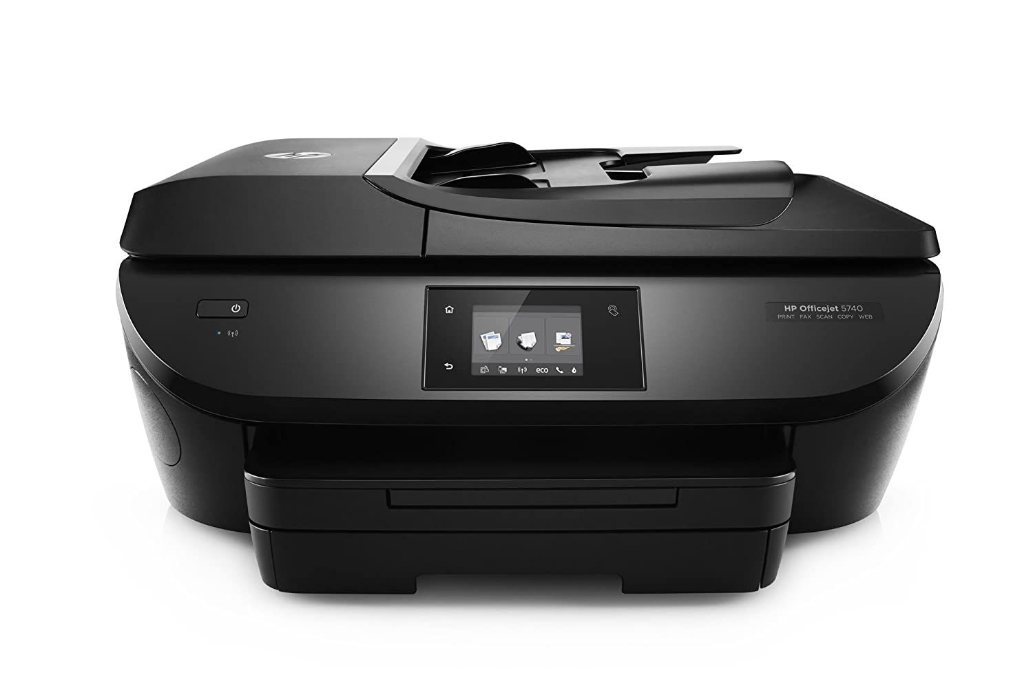 HP OfficeJet 5740 e-All-in-One Printer, Instant Ink Compatible - Black