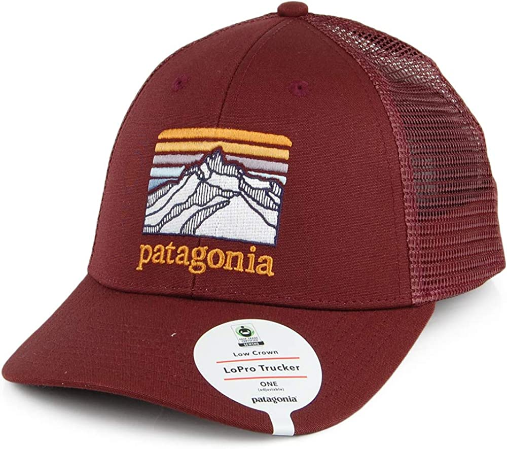 Patagonia LoPro Trucker - Gorra, Color Rojo Oscuro Dunkles ...