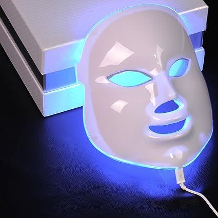 Genius Factory ® 7 Colores Luz fotón Led Máscara Facial Skin ...