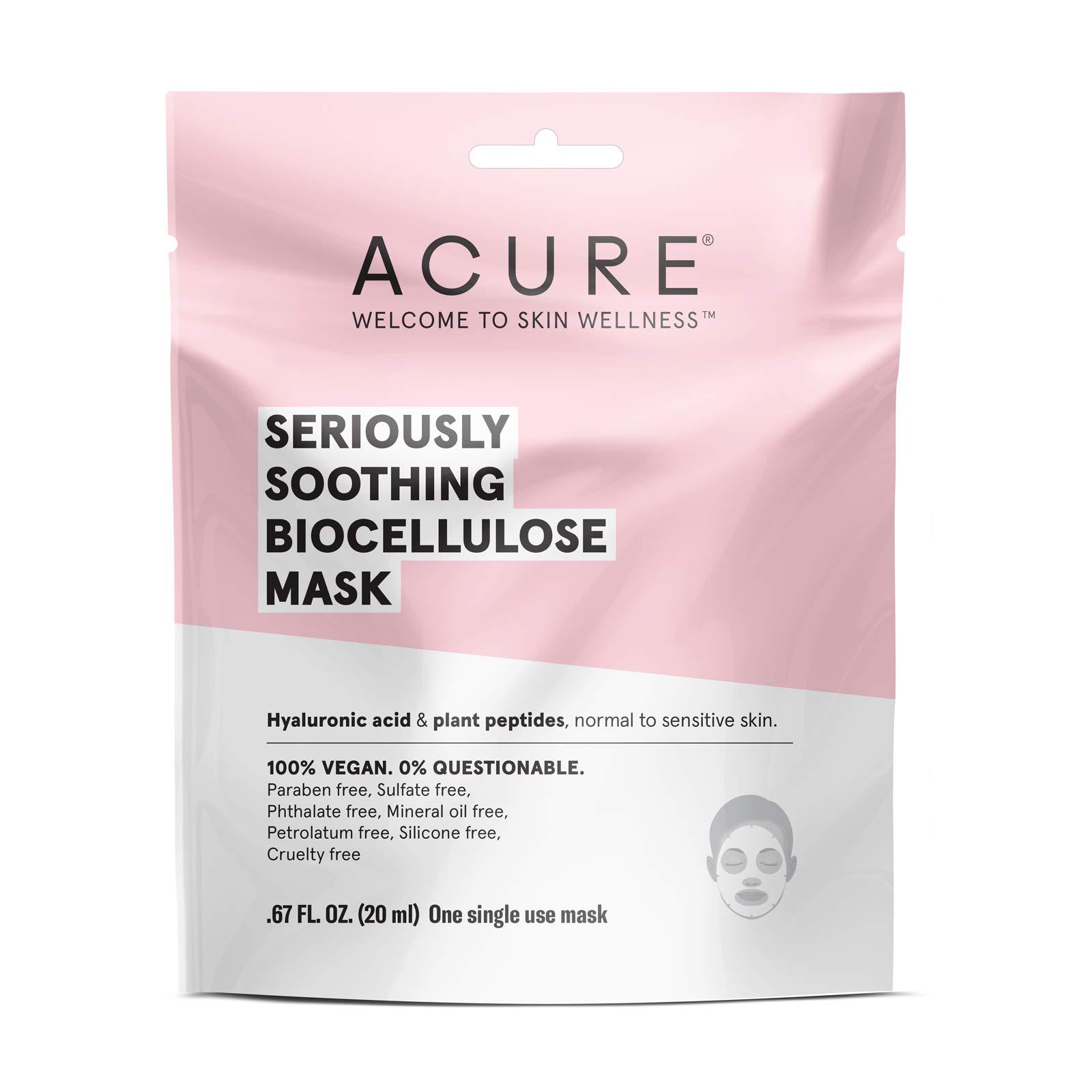 Amazon.com: ACURE Radically Rejuvenating Sheet Mask, 5