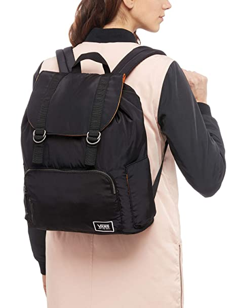 Amazon.com: Vans Geomancer Womens Backpack One Size Matte Black: Clothing