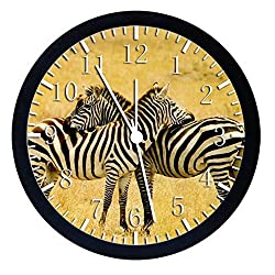 Extra Large Size 14 Zebra Wall Clock Home Office Decor or Nice For Gift W51