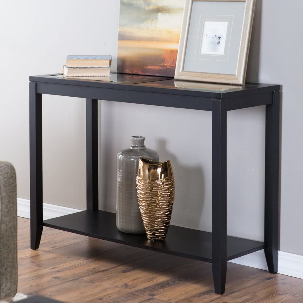 Upton Home Duncan Travel Narrow Trunk Console Sofa Table With Storage