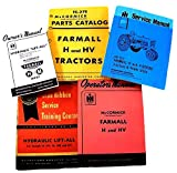 Farmall H HV Tractor Service, Parts and Operators Manuals for Chassis, Engine, Hydraulics Lift-All, Engine Repair and More For Shop and Field Use