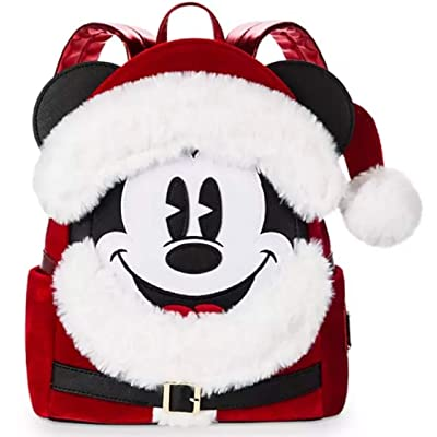 Santa Mickey Mouse Mini Backpack by Loungefly | Kids' Backpacks