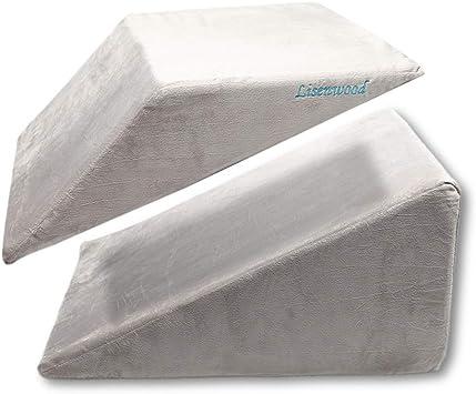 Amazon.com: Lisenwood - Juego de almohadas de espuma para ...
