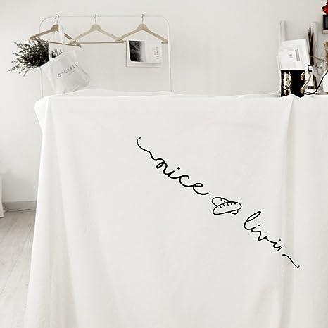 Designer Table Cloths   Amazon Com Ruoyou Linen Tablecloths Creative Table Linen Modern