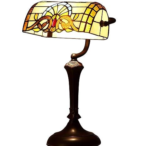 Tiffany lámpara de mesa-lámpara de noche decorativa de ...