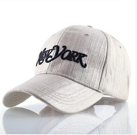 NONGNIML Gorra Visera Casual Sun Cap para Mujeres Carta de Gorras Trucker Hat para Camping Viaje