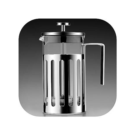 Amazon.com: Cafetera de prensa francesa de vidrio de ...