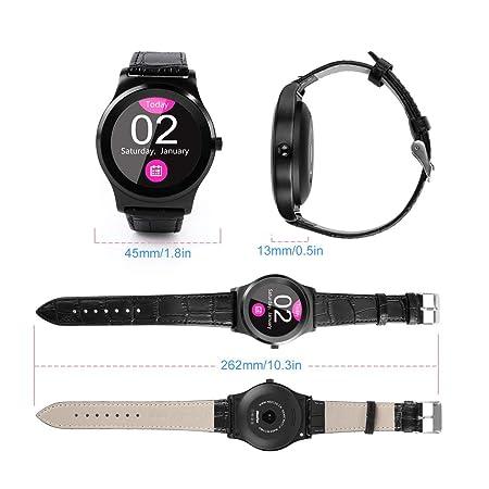 Funnyrunstore Bluetooth 4.0 Smart Watch MTK2502C 1.3 en ...