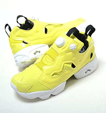 reebok insta pump fury yellow