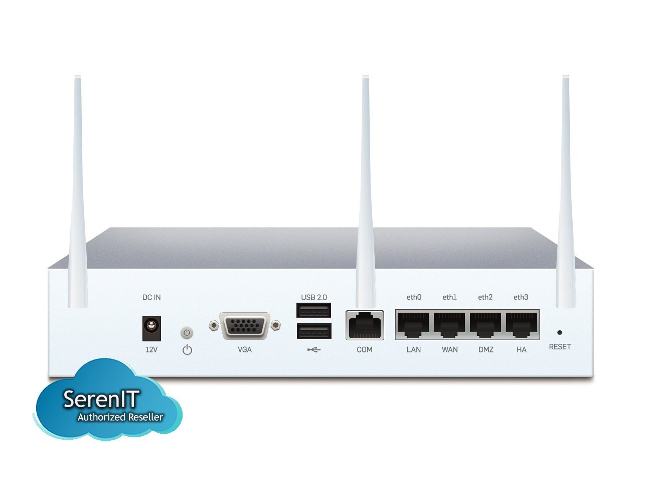 Sophos | SW1ATCHUS | SG 105w Security Appliance WiFi - US power cord by Sophos (Image #2)