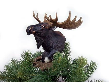Bartos Moose Christmas Tree Topper Amazoncouk Kitchen Home