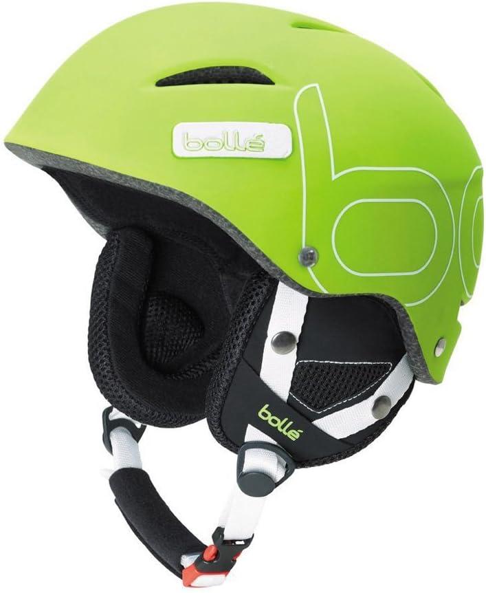 Bolle B-Style Ski Helmet Soft Green, 58-61-cm