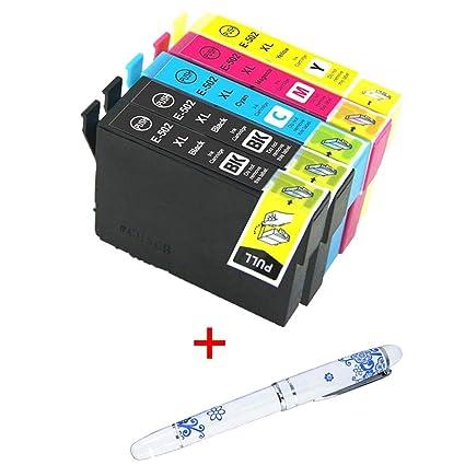 2 Cartuchos de Tinta para Impresora Epson XP-5100, XP-5105 ...