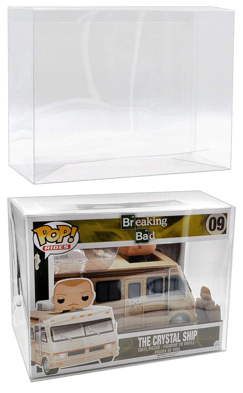 MALKO Protector Case for Newer POP Rides Vinyl Figures (5 Pack)