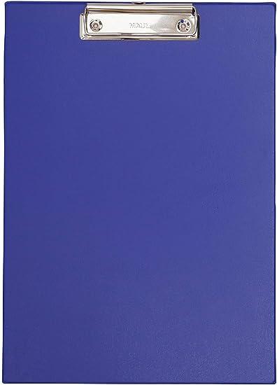 MAUL Klemmbrett MAULneon Kunststoff transparent-blau DIN A4 Klemmweite 8mm