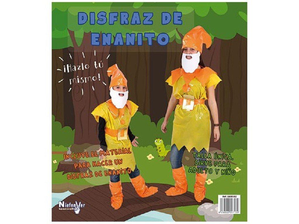 Niefenver Disfraz Bolsa Plástico Gnomo: Amazon.es: Juguetes ...
