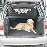 LPY-Pet Net Vehicle Safety Mesh Dog Barrier SUV Car Truck Van - Fits Behind Front Seats