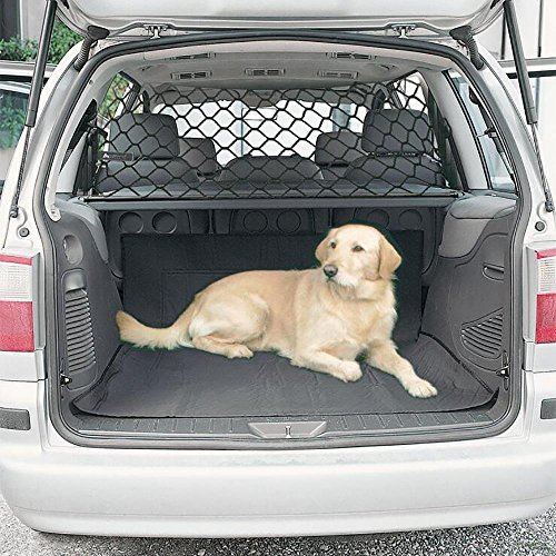 LPY-Pet Net Vehicle Safety Mesh Dog Barrier SUV / Car / Truck / Van - Fits Behind Front Seats (Pet Cargo Net Barrier)