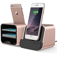 Vrs Design VRS81871 New i-Depot Sharging Dock, iPhone ve iPad Şarj Standı, Rose Gold