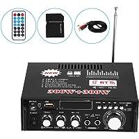 Amplificador Estéreo para Automóvil, 12V 600W Bluetooth HiFi