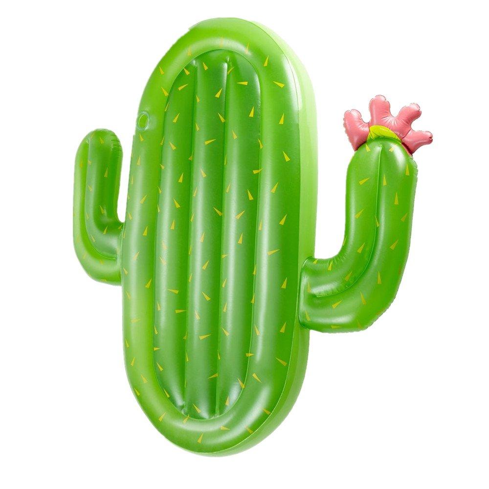 Sunbobo Asiento inflable de los flotadores de la piscina del PVC de la forma del cactus para los niños adultos Juguete del flotador de los muchachos de las muchachas de los niños