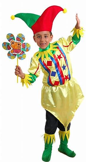 De Para Niño Años 4 Disfraz Bufón 2 A 0yvmwON8n