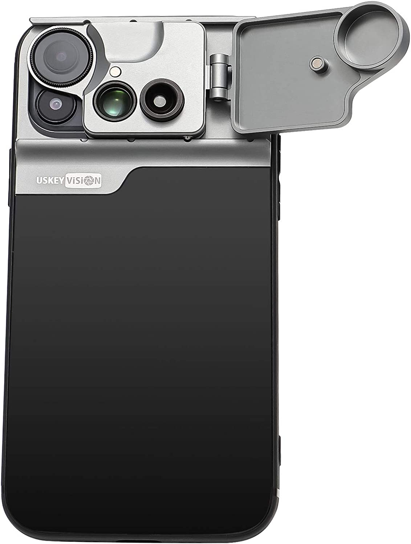 Multi Phone Camera Lens for iPhone 12 CPL Filter+20X Macro UVMC-12 180/° Fisheye Lens for iPhone 12 Smartphone Accessories USKEYVISION Smartphone Camera Lens