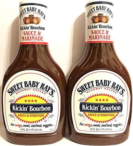 Sauces & Marinades: Sweet Baby Ray's Kickin' Bourbon
